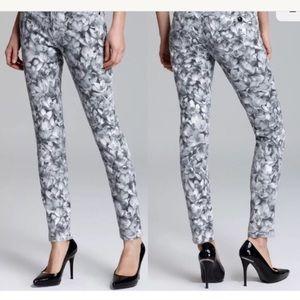 🌸Michael Kors🌸Women's Floral Print Jeans Size 4P
